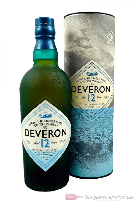 The Deveron 12 Years Single Malt Scotch Whisky 0,7l
