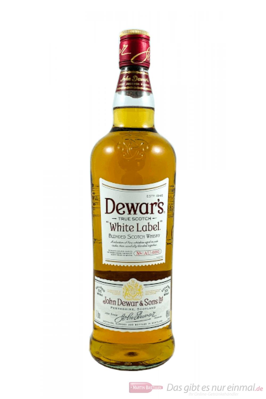 Dewar`s White Label Blended Scotch Whisky 1,0l