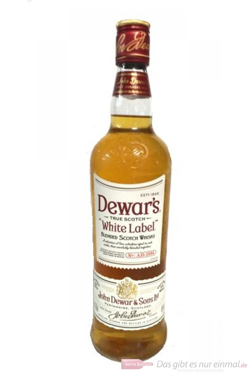 Dewar`s White Label
