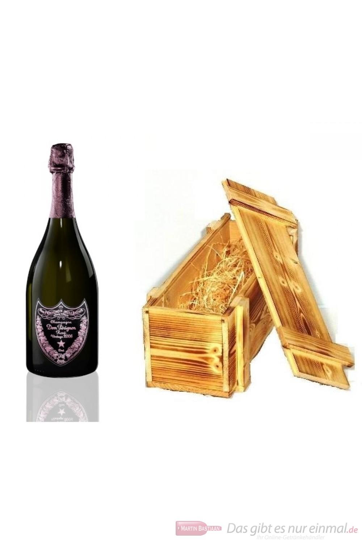 Dom Perignon Rosé Vintage 2006 Champagner in Holzkiste 0,75l