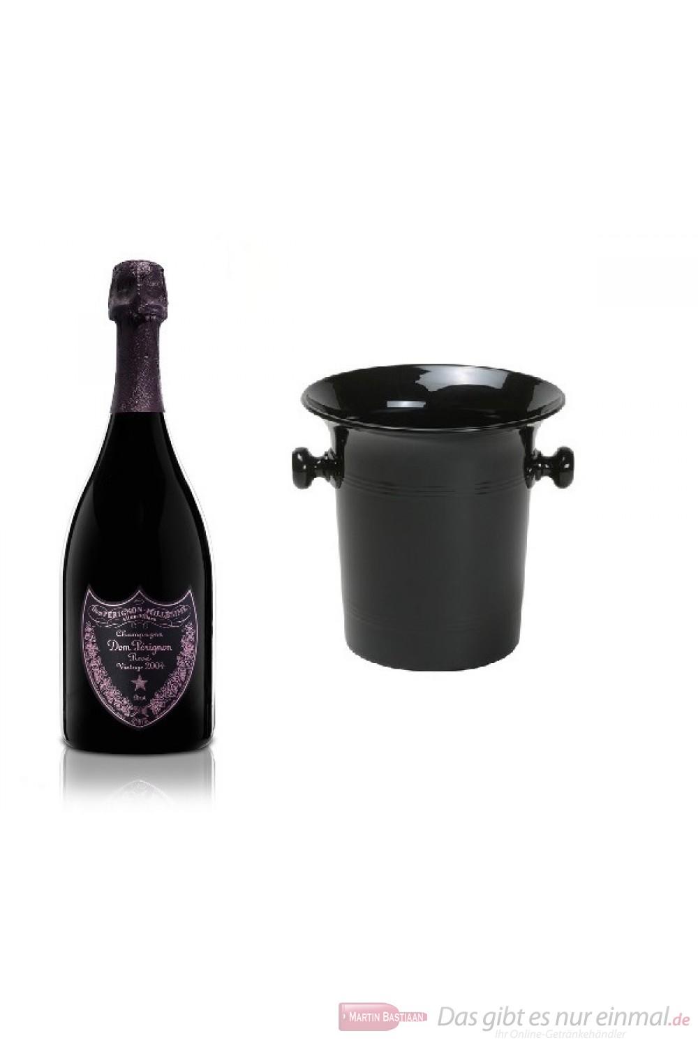Dom Pérignon Rosé Vintage 2004 Champagner im Kübel