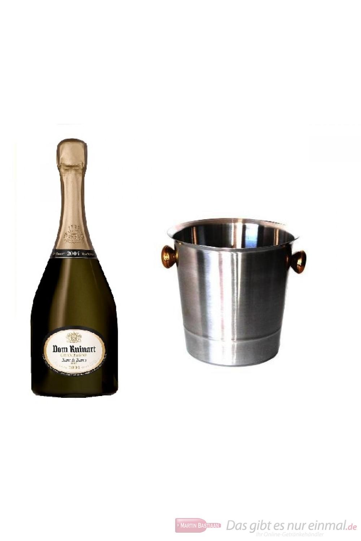 Dom Ruinart Champagner 2004 im Kühler