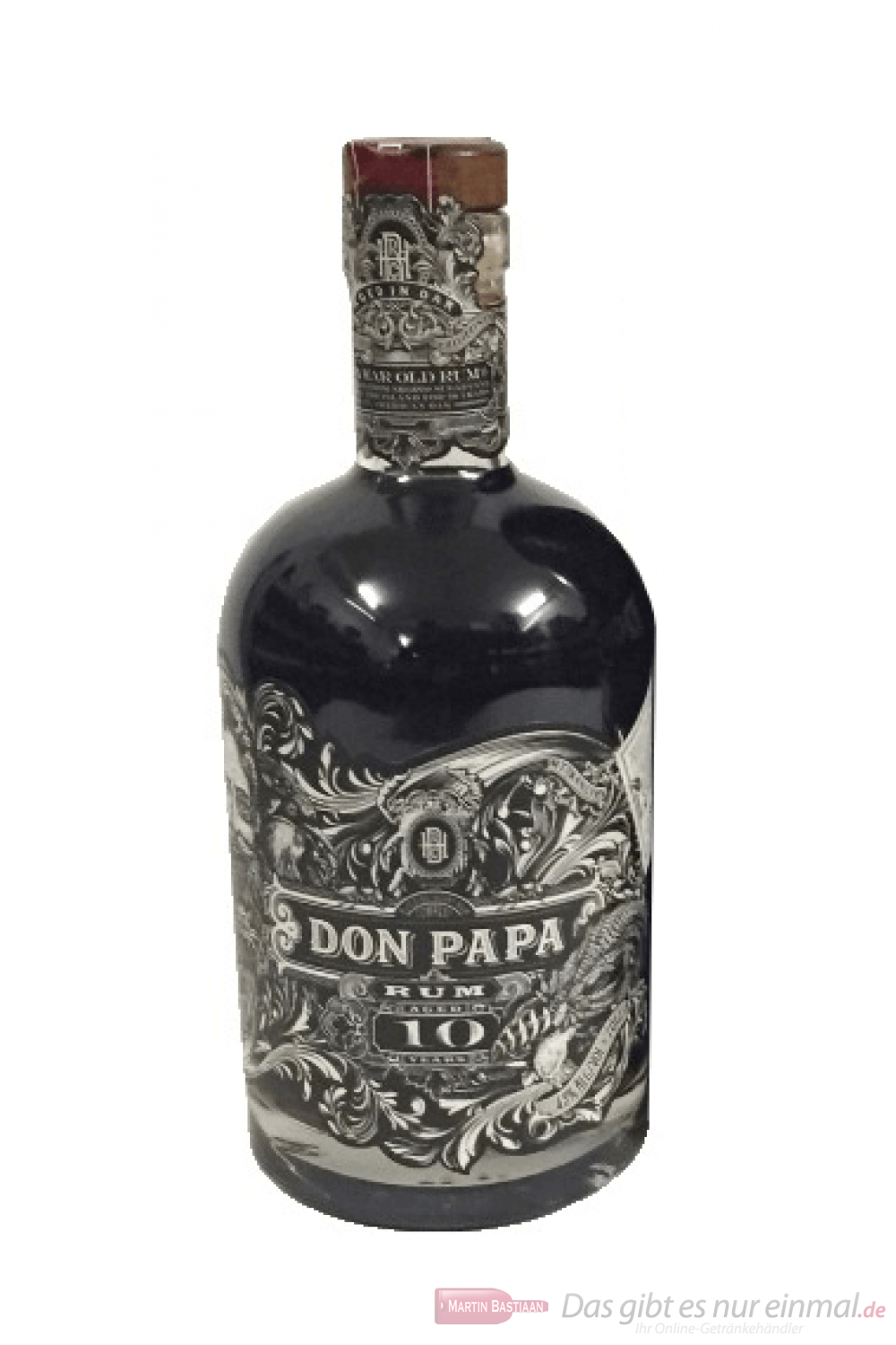 Don Papa 10 Years ohne Geschenkverpackung