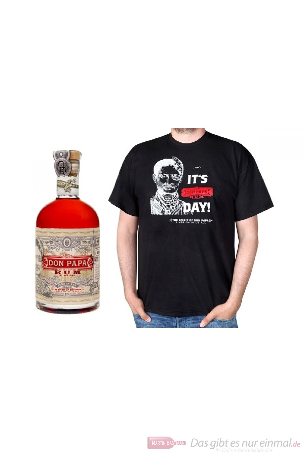 Don Papa Small Batch Rum + T-Shirt