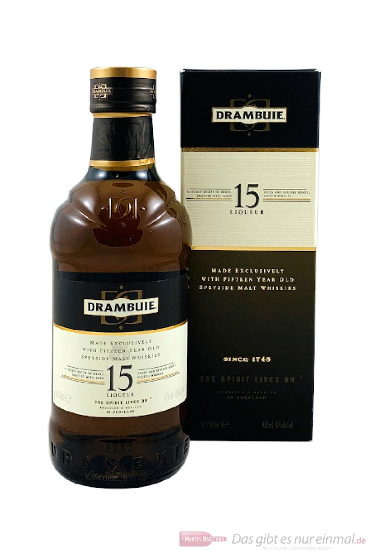 Drambuie 15 Jahre schottischer Whiskylikör 0,5l