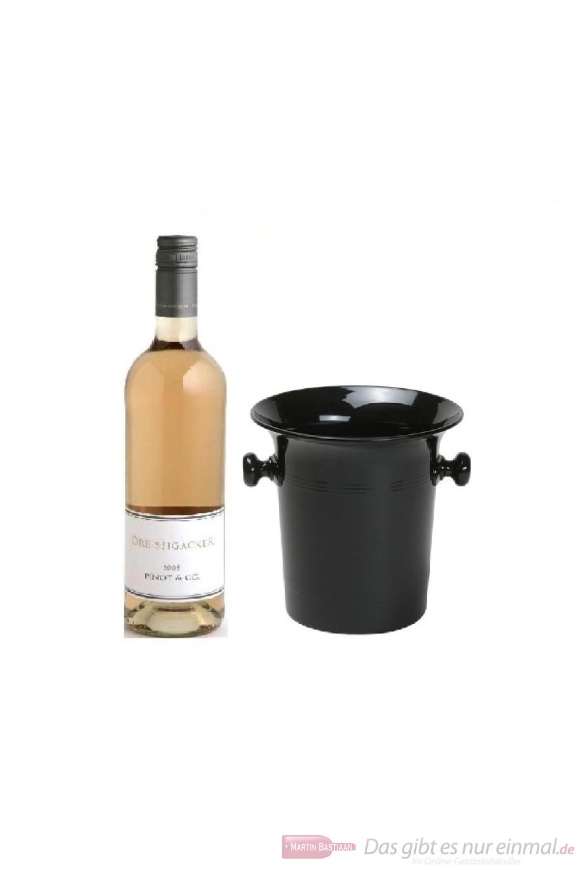 Dreissigacker Pinot und Co Qba Rosé Cuvée tr. 2013 0,75l Wein Kübel