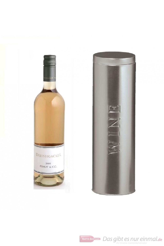Dreissigacker Pinot und Co Qba Rosé Cuvée trocken 2010 12,5% 0,75l Flasche in Metalldose Wine