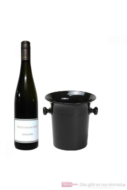 Dreissigacker Riesling Weißwein Qba trocken 2012 0,75l in Wein Kübel