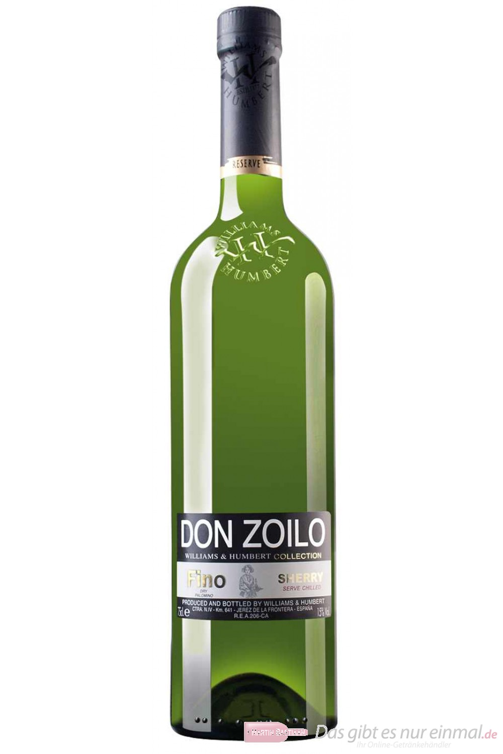 Don Zoilo Williams & Humbert Collection Fino Sherry