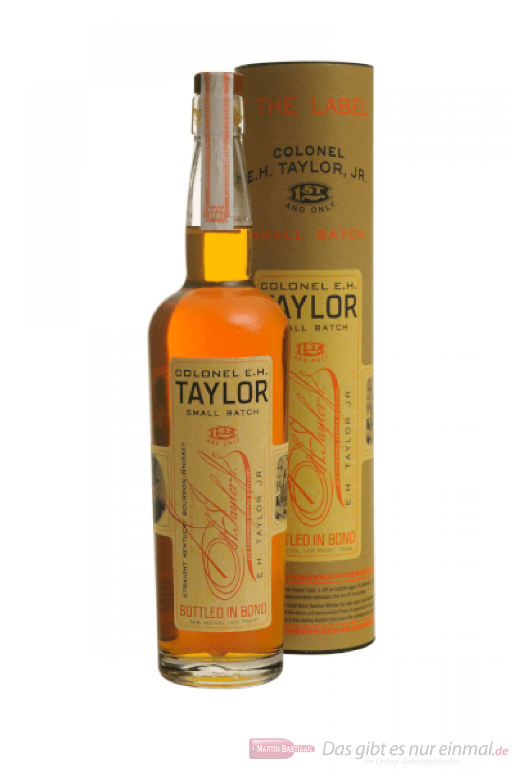 Colonel EH Taylor Small Batch Whiskey 0,7l
