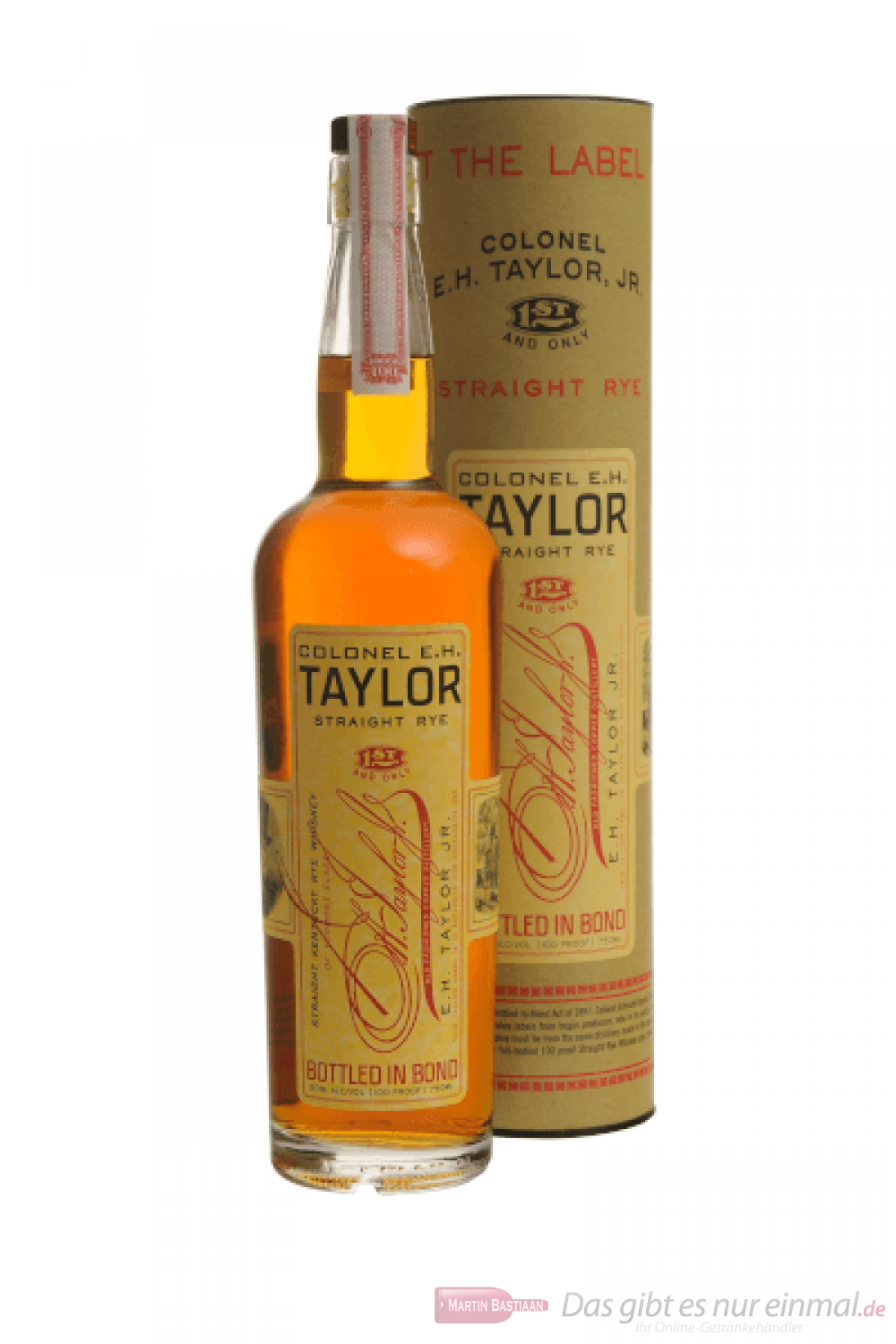 Colonel EH Taylor Jr. Straight Rye Whiskey 0,7l