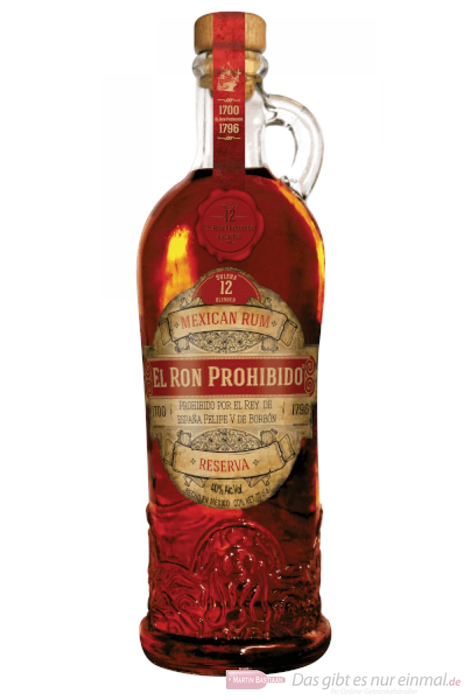 Prohibido Rum Solera 12 0,7l