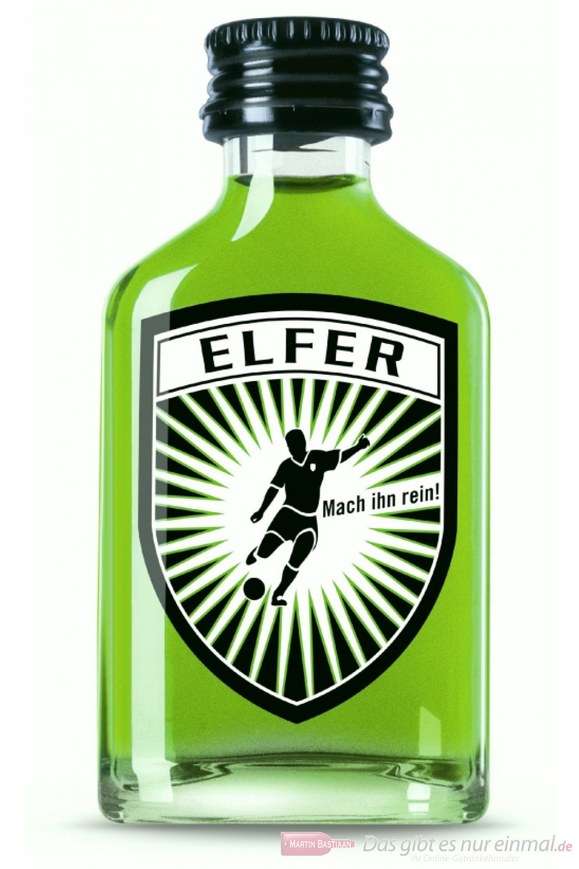 Elfer Waldmeisterlikör 15% 20-0,02l Miniatur Flaschen Likör