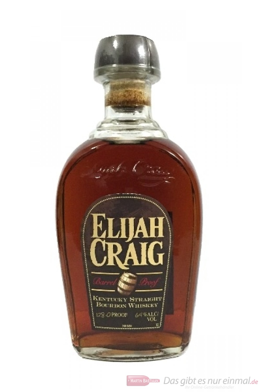 Elijah Craig Barrel Proof Straight Bourbon Whiskey 64%