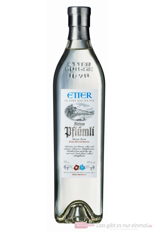Etter Kleines Pflümli Obstbrand 41% 0,7l Flasche
