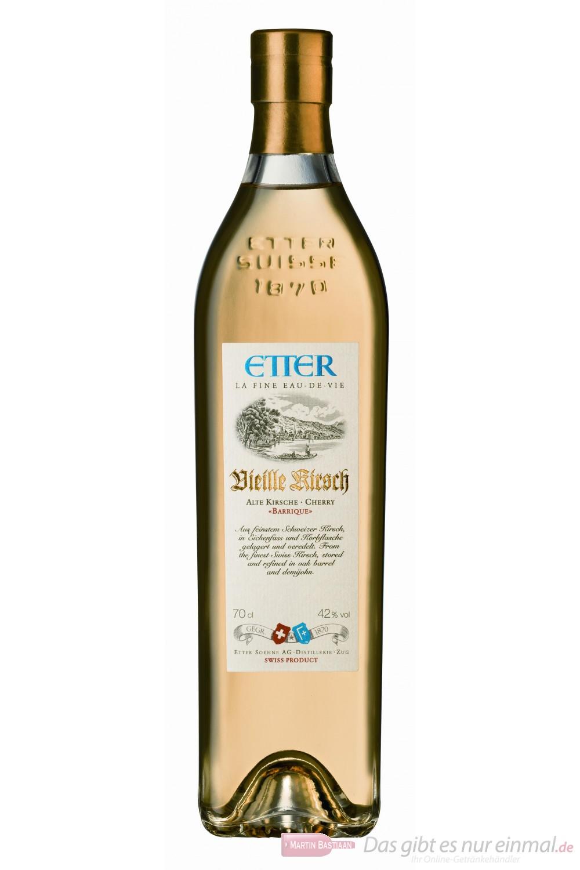 Etter Vieille Kirsch Obstbrand 42% 0,7l Flasche