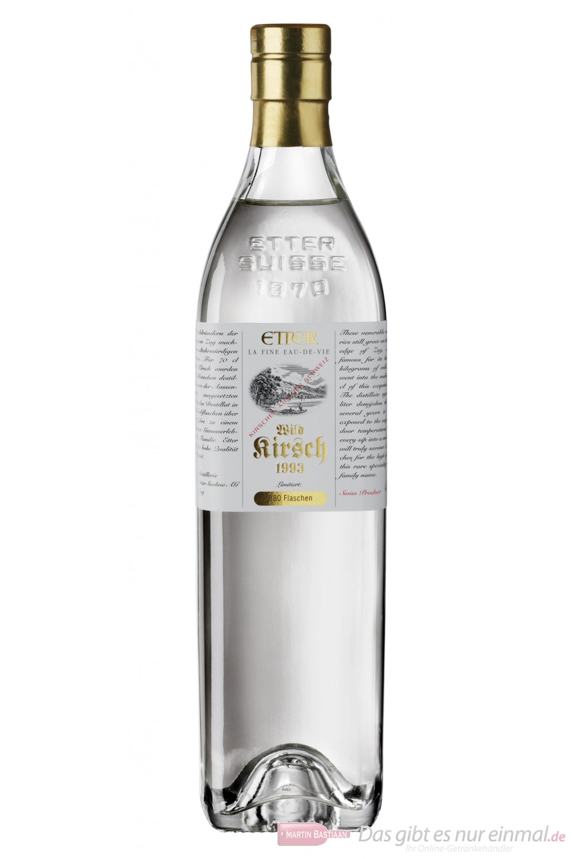 Etter Wildkirsch Obstbrand 42% 0,7l Flasche