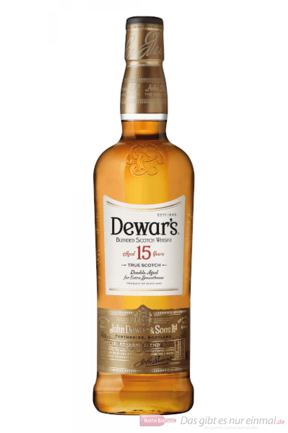 Dewar´s 15 Years Blended Scotch Whisky 0,7l