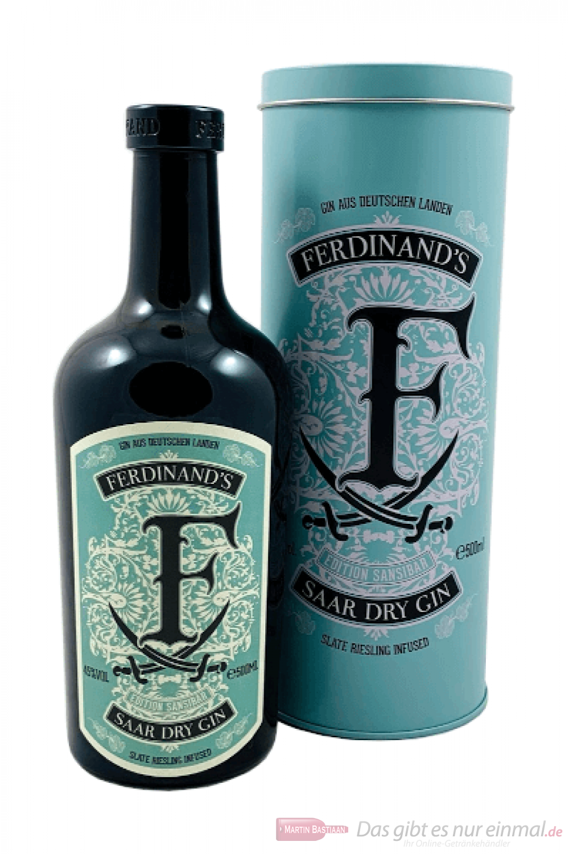 Ferdinand's Saar Dry Gin Edition Sansibar 0,5l