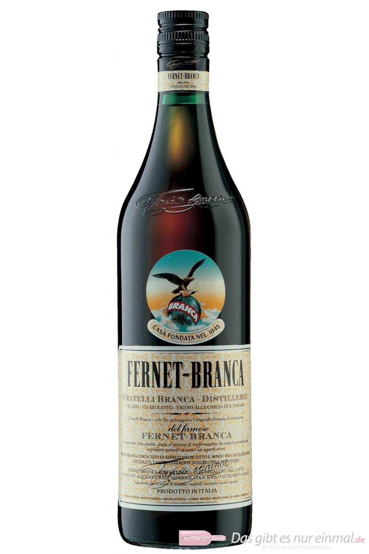 Fernet Branca Kräuter Likör 39% 1,0l Flasche Liqueur
