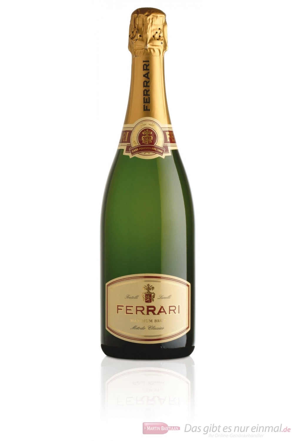 Ferrari Sekt Maximum Brut 12,5% 6-0,75l Flaschen