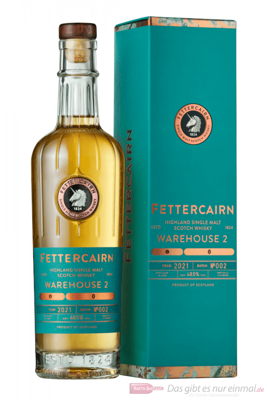 Fettercairn Warehouse 2 Batch 2 2021 Single Malt Scotch Whisky 0,7l