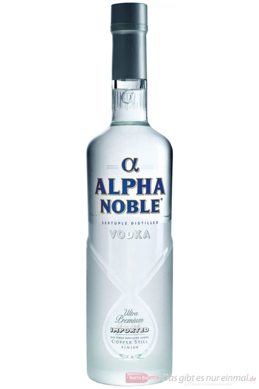 Alpha Noble Wodka 40% 0,5l Vodka
