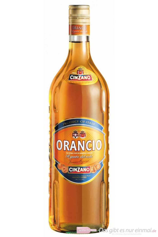 Cinzano Orangico Vermouth 15% 0,75l Wermut Flasche