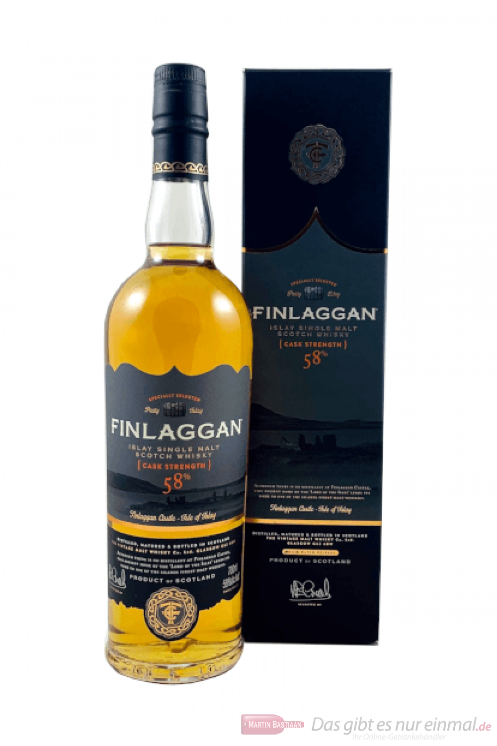 Finlaggan Cask Strength Single Malt Scotch Whisky 0,7l