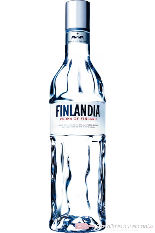 Finlandia Wodka 40% 1,0l Vodka Flasche
