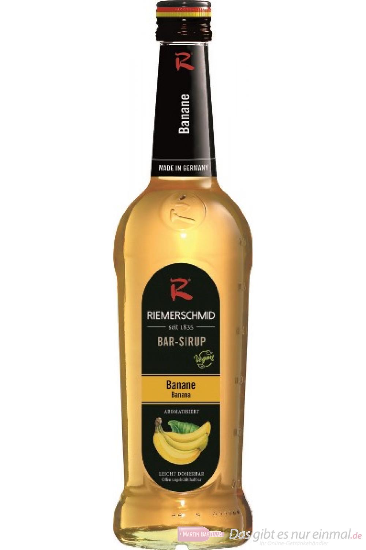 Riemerschmid Barsirup Banana 0,7 l