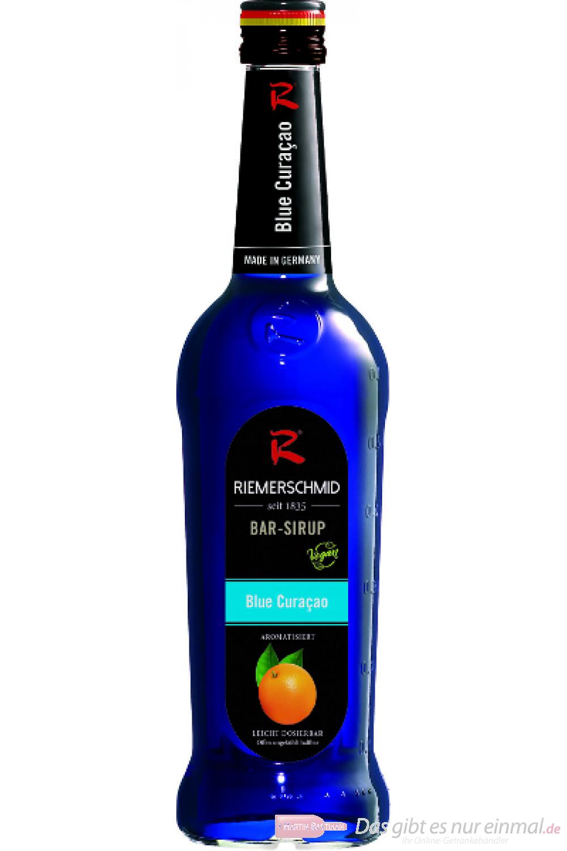 Riemerschmid Bar Sirup Blue Curacao 0,7l