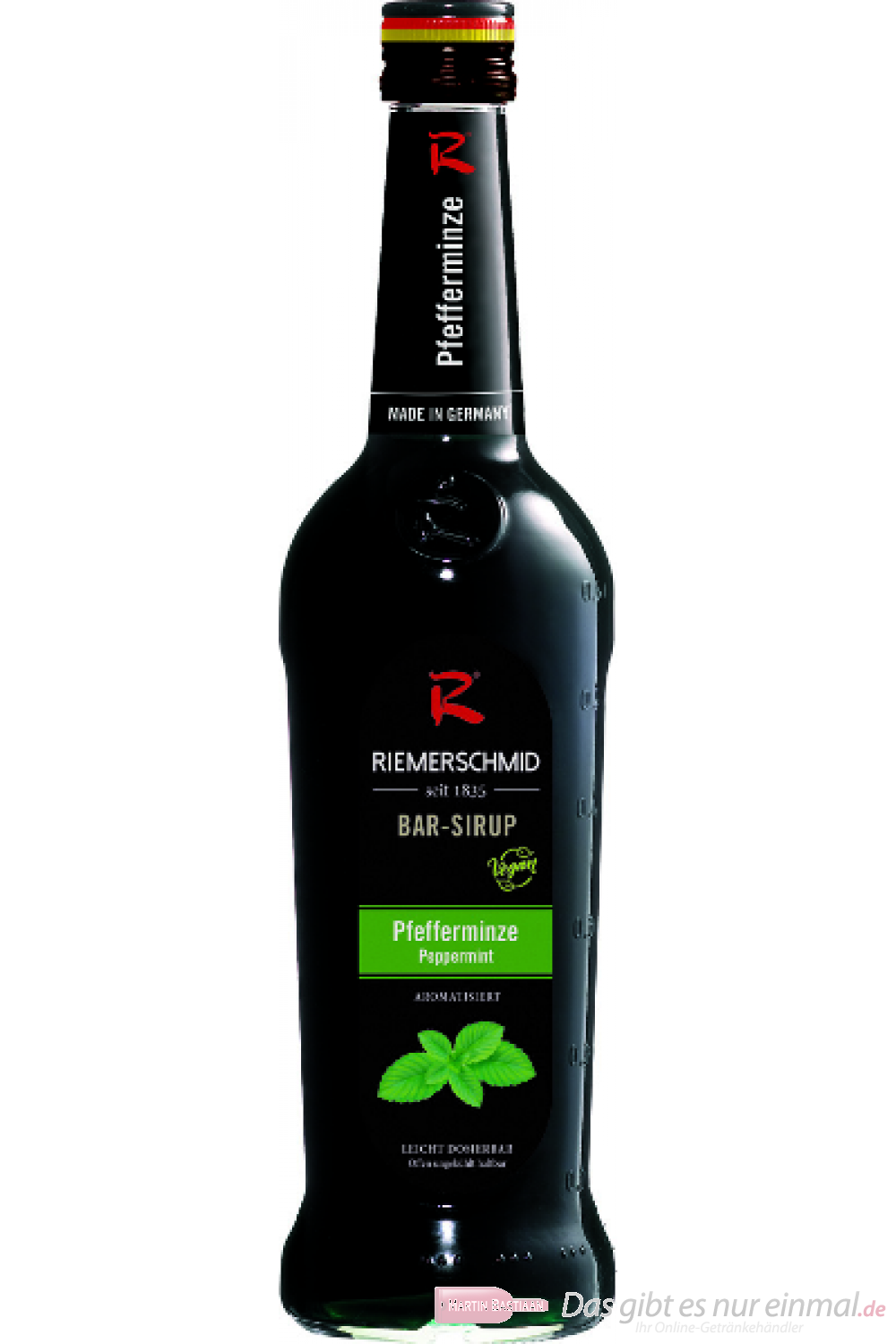 Riemerschmid Bar Sirup Pfefferminz 0,7l