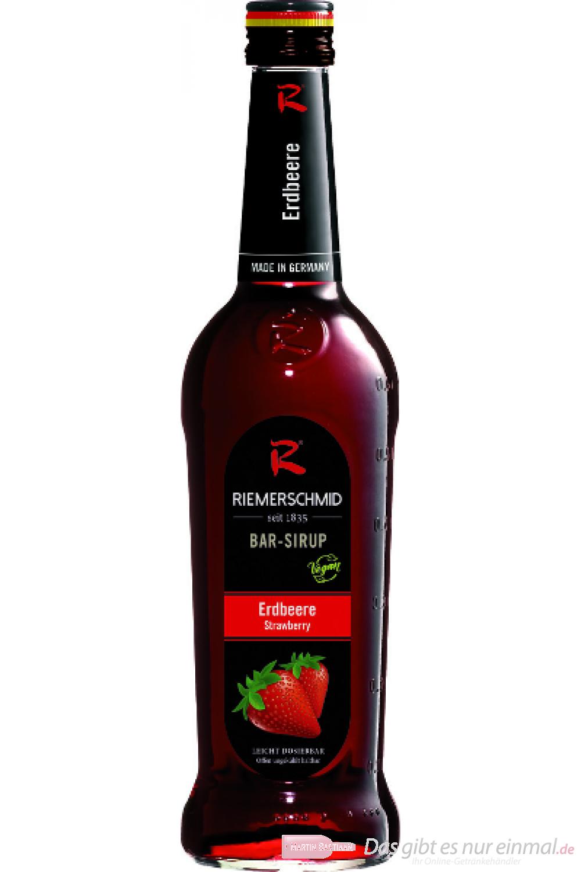 Riemerschmid Bar Sirup Erdbeere 0,7l