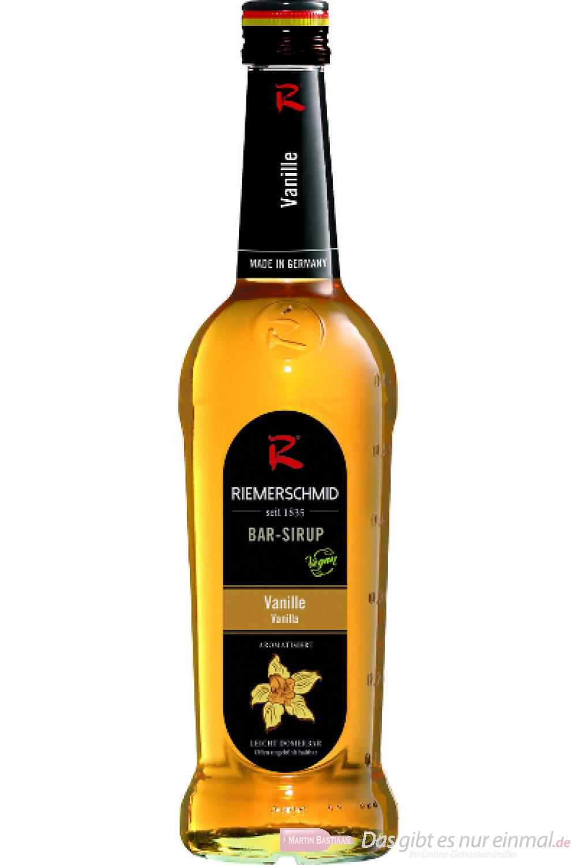 Riemerschmid Bar Sirup Vanilla 0,7l