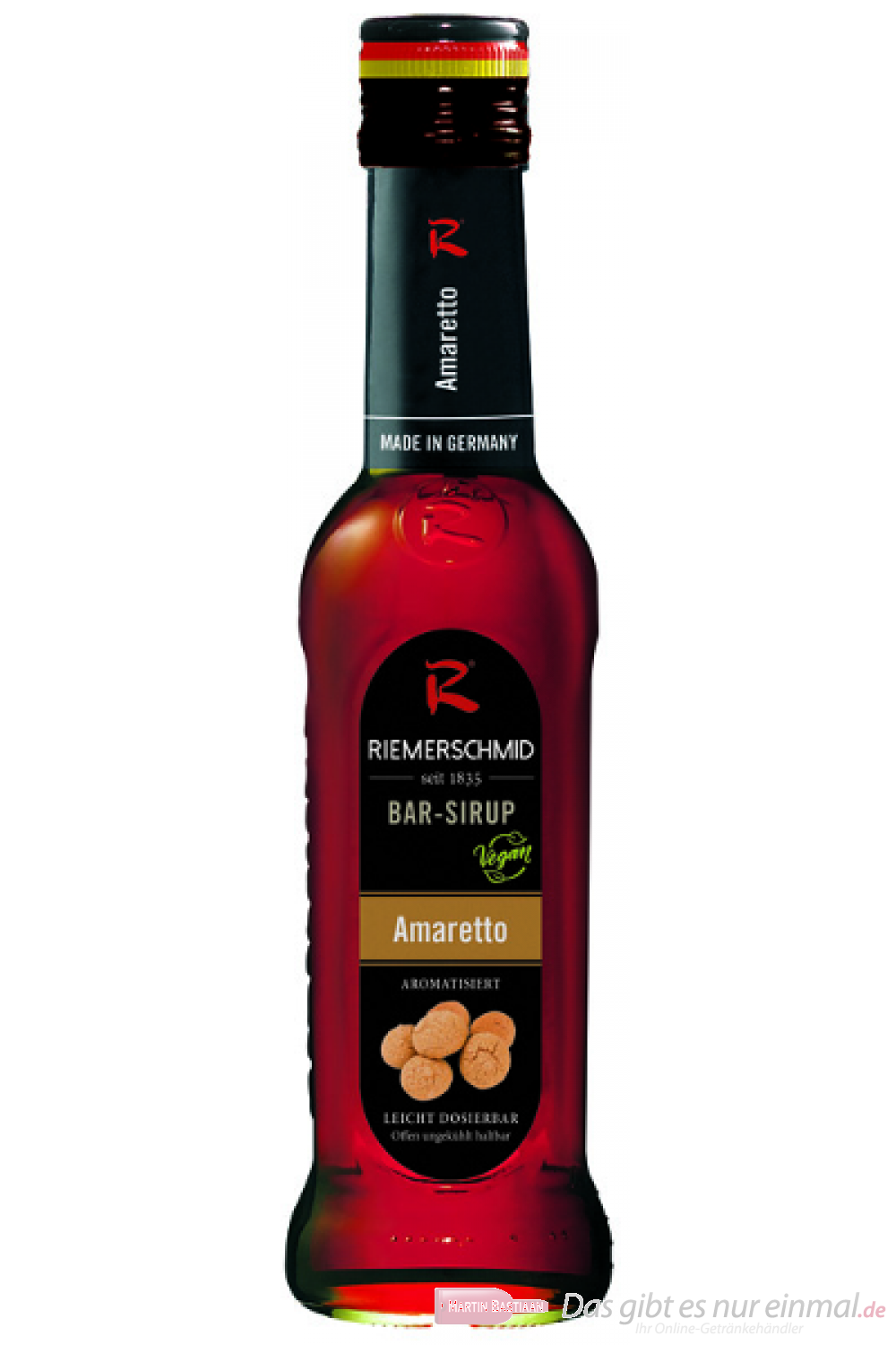 Riemerschmid Bar Sirupe Amaretto 0,25l