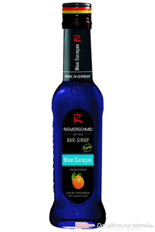 Riemerschmid Bar Sirup Blue Curacao 0,25l