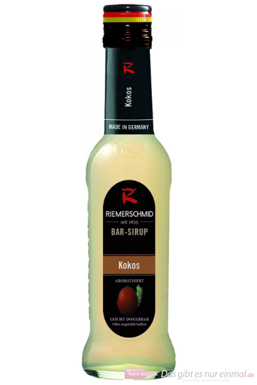 Riemerschmid Bar Sirup Coconut Kokos 0,25l