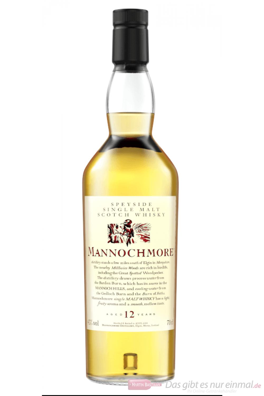 Mannochmore 12 Years Flora & Fauna Collection Single Malt Scotch Whisky 0,7l