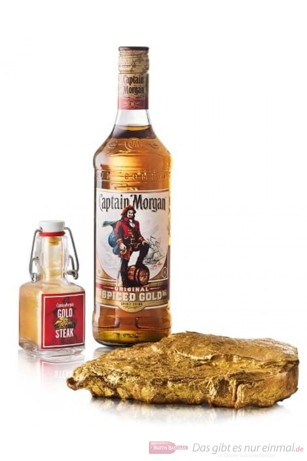 Captain Morgan Spiced Gold Steak Marinade