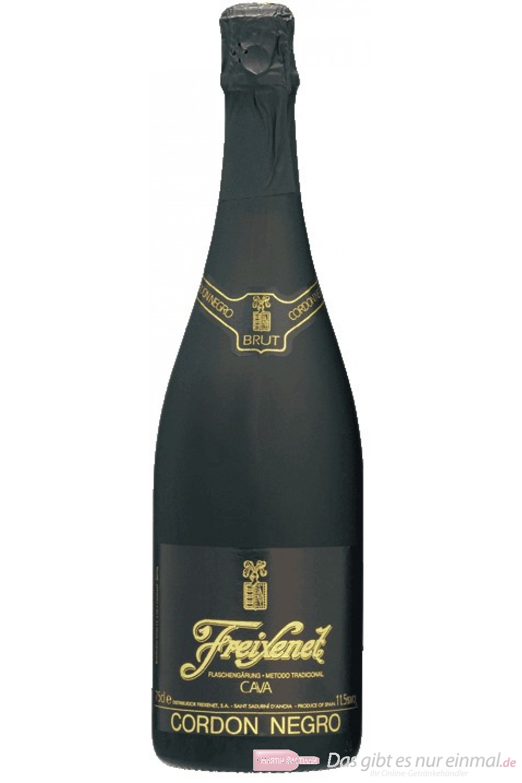 Freixenet Sekt Cordon Negro Brut 12 % 6-0,75 l Flaschen