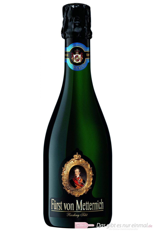 Fürst von Metternich Riesling Sekt Trocken 12,5% 12-0,375l Flasche