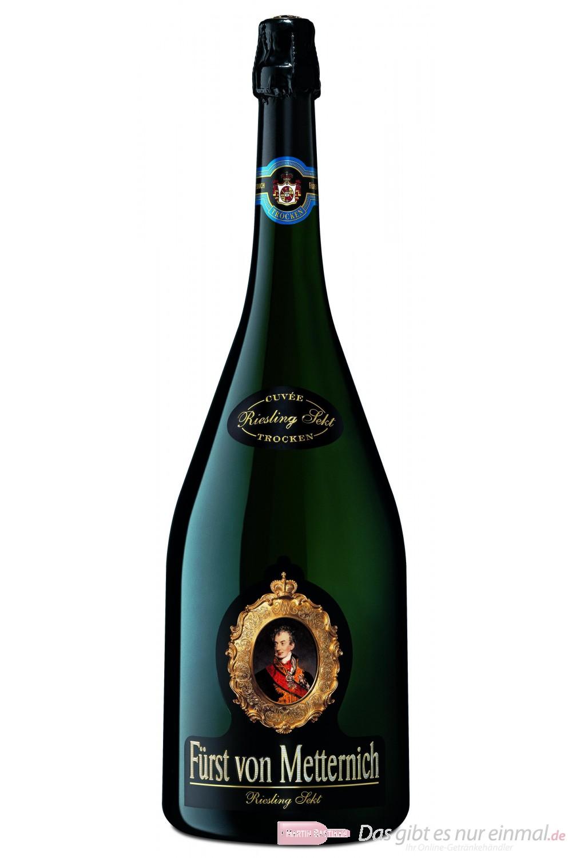 Fürst von Metternich Riesling Sekt Trocken 12,5% 3,0l Großflasche