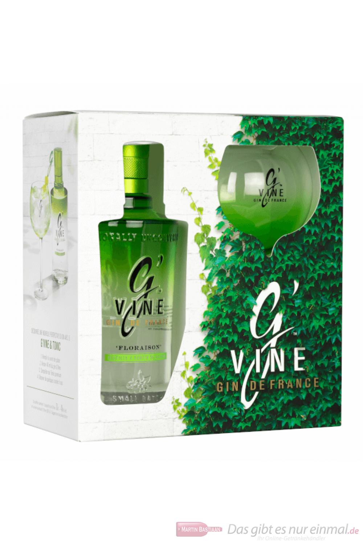G-Vine Floraison + Glas Gin 0,7l