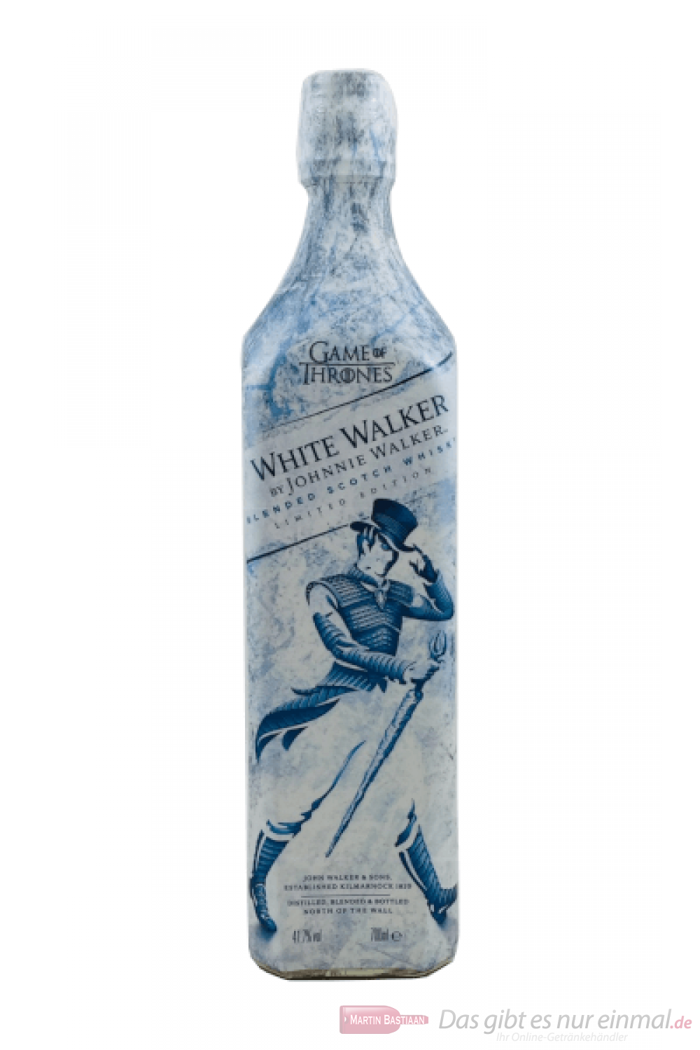 Johnnie Walker White Label Game of Thrones Blended Scotch Whisky 0,7l