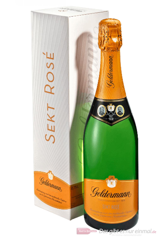 Geldermann Sekt Rosé in der Geschenkverpackung 6-0,75l
