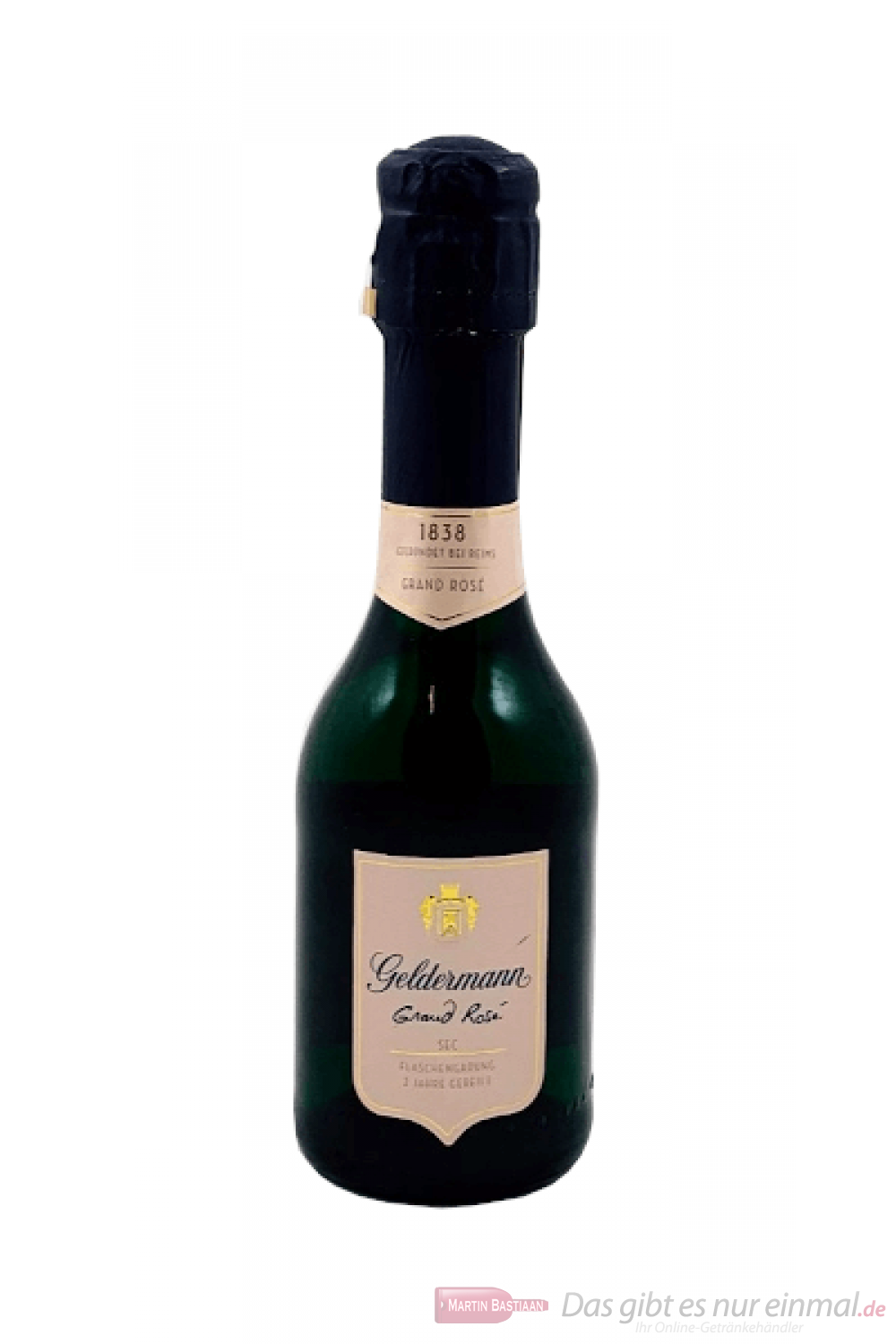 Geldermann Grand Rosé Sekt 12-0,2 l Piccolo