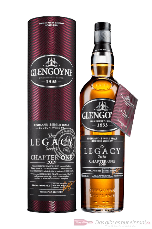 Glengoyne Legacy Chapter One Single Malt Scotch Whisky 0,7l