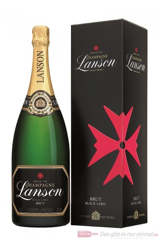 Lanson Black Label in Geschenkpackung