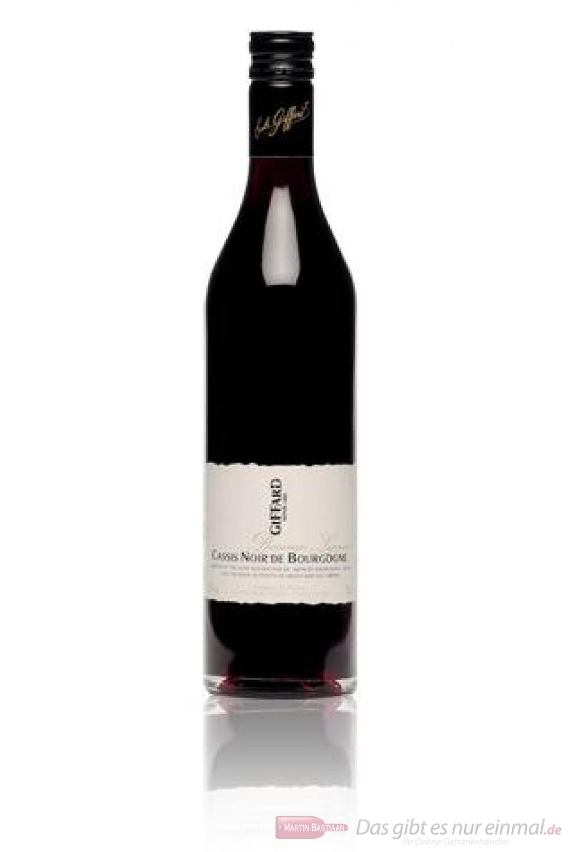 Giffard Cassis Noir De Bourgone Likör 20 % 0,7 l Flasche